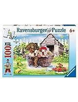 Ravensburger Pirate Pups 100 Pieces Puzzle By Ravensburger