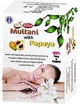 Sapna Multani mitti with papaya powder 5X100gm