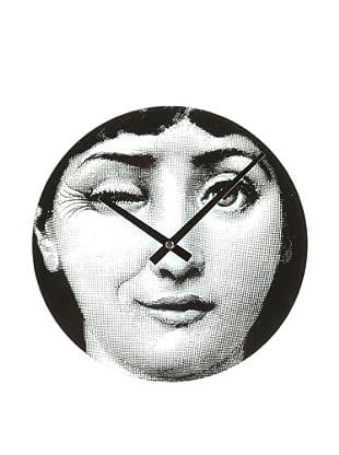 Mid Century Modern Mid Century Girl Blink Clock