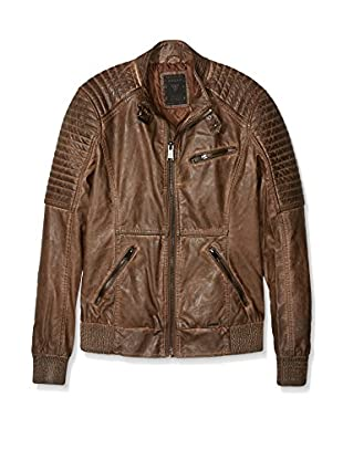 Guess Chaqueta Ribbed Biker