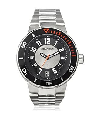 Philip Stein Men's 34-BGR-SS Extreme Silver/Grey Stainless Steel Watch