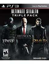 Ultimate Stealth Triple Pack W/Hitman Absolution/D