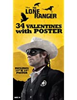 Paper Magic Lone Ranger Deluxe Valentine Exchange Cards with Bonus Poster (34 Count)