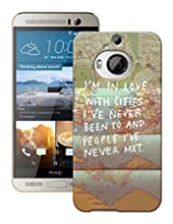 Pick Pattern Back Cover for HTC One M9 Plus