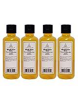 Khadi Pure Honey & Lemon Juice Shampoo - 210ml (Set of 4)
