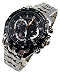 CASIO EDIFICE EF 550 Retrograde MENS With Free Gift