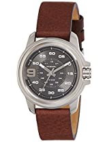 Diesel Sprocket Analog Gunmetal Dial Men's Watch - DZ1744