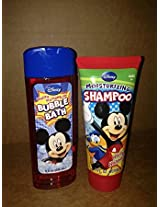 Disney Mickey Bathing & Skin Care (Bubble Bath & Shampoo)