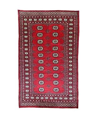 L'Eden del Tappeto Teppich Kashmirian rot/blau 220t x t135 cm