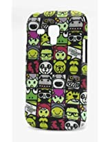 Fonokase Case for Samsung Galaxy S DUOS Cartoon Hard Back + Screen Guard