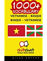 1000+ Vietnamese-basque Basque-vietnamese Vocabulary