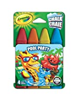 Crayola Build Your Box Pool Party Chalk (4 Count)