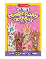 Pink: My First Temporary Tattoos 100+ Kid Friendly Tattoos + Free Melissa & Doug Scratch Art Mini Pad Bundle [29469]