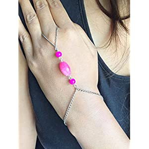 Cupkin Accessories Pink Stone Haathphool