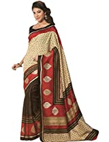 AASRI Women Party Wear Printed Bhagalpuri Art Silk Saree 11946