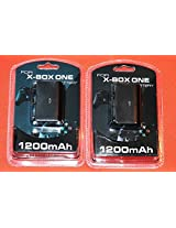 2x New Rechargeable Battery Packs For Xbox One Wireless Controller W/ Usb Cables