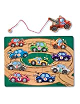 Melissa and Doug Deluxe Magnetic Towing Game (10 Piece)
