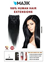 Straight Synthetic 24 inch Hair Extension(Natural Black)