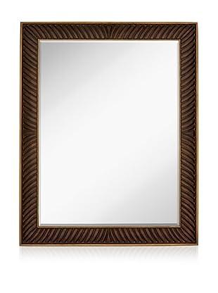 Majestic Mirrors Serrette Mirror (Antique Copper)