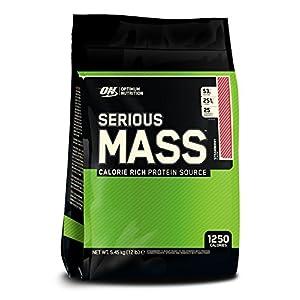 Optimum Nutrition (ON) Serious Mass - 12 lbs (Strawberry)