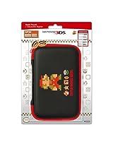 HORI XL Retro Mario Hard Pouch for Nintendo 3DS - Black