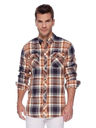 ANALOG Camisa Elden (Naranja)