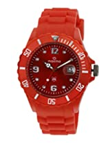 Maxima Analog Red Dial Men's Watch - 31052PPGN