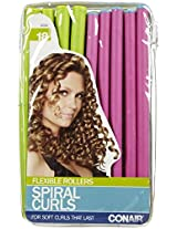 Conair Styling Essentials Spiral Rollers Set 18 Each