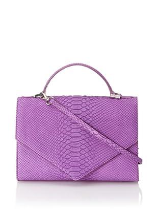 Emily Cho Women's Medium Triangle Bag (Purple)
