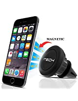 Car Mount/holder, ItechTM Universal Air Vent Magnetic Car Mount Holder, for Cell Phones and Mini Tablets with Fast Swift-snaptm Technology, Magnetic Cell Phone Mount/holder