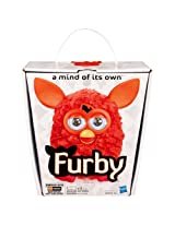 Furby 2012 Tangerine Tango With Aa Batteries