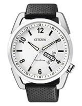 Citizen Eco-Drive Analog White Dial Men's Watch AW0010-01A