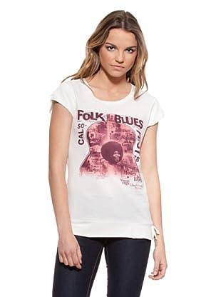 Timeout Camiseta Print (Blanco)