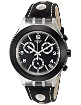 Swatch Analog Black Dial  Unisex Watch - SVCK4072
