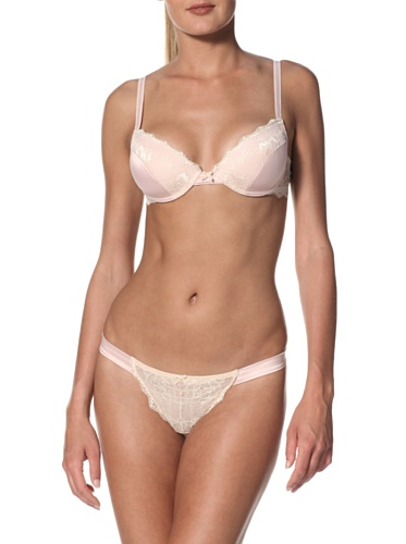 Blush Women's Great Expectations Thong (Whisper Pink)