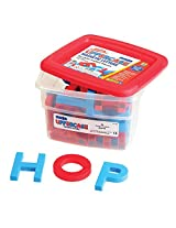 Educational Insights AlphaMagnets- Jumbo Color-Coded Uppercase (42 Pieces)