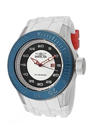 Invicta 11946 - Reloj de Caballero cuarzo poliuretano Blanco