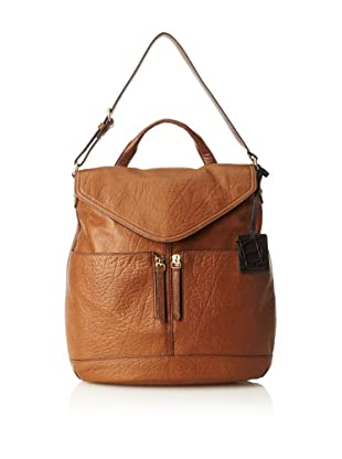OH by Joy Gryson Women's Unzipped Flap Hobo (Brown)
