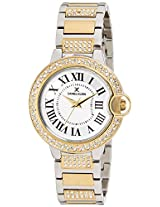 Daniel Klein Analog White Dial Women's Watch - DK10908-5