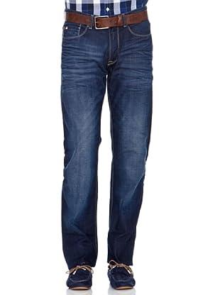 Pedro del Hierro Pantalón Regular (Azul oscuro)
