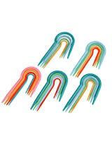 20pcs/Lot Multi-color ABS Plastic Cable Stitch Knitting Holders Needles Set Tool.