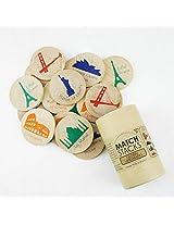 Tree Hopper Toys Match Stacks, Global Landmarks