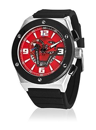 Stührling Original Uhr mit Schweizer Quarzuhrwerk Esprit Turbine 281XL.331640 schwarz 52  mm