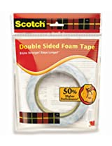 Scotch Foam Packaging Tape, 18 mm x 3 m