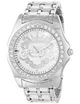 Marc Ecko Men's E95016G6 White Dial Bracelet Watch