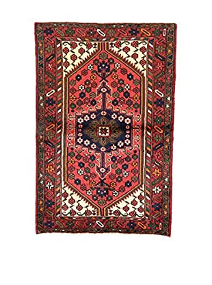 L'Eden del Tappeto Teppich Hamadan rot/mehrfarbig 152t x t100 cm