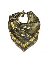 Tiekart Mens Silk Scarves -Grey -Free Size