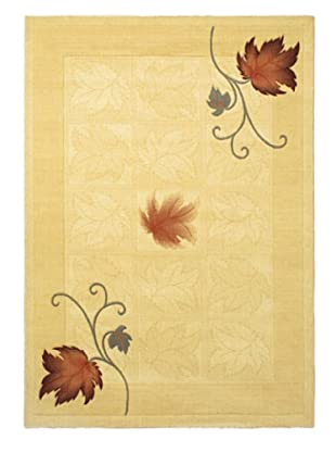 Royale Modern Rug, Light Yellow, 5' 7