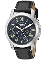 Fossil Grant Analog Blue Dial Men's Watch - FS5089