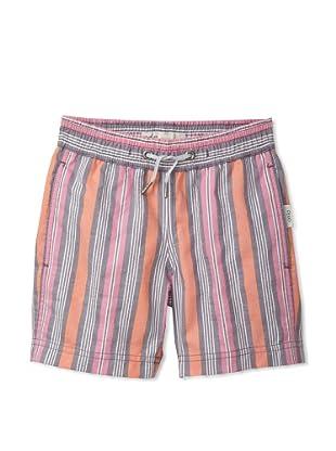 Onia Boy's Charlie Trunks (Purple/Orange Stripe)